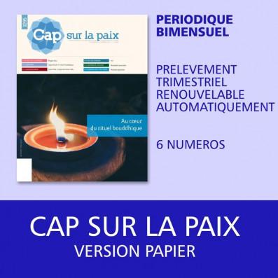 Cap sur la paix - Papier