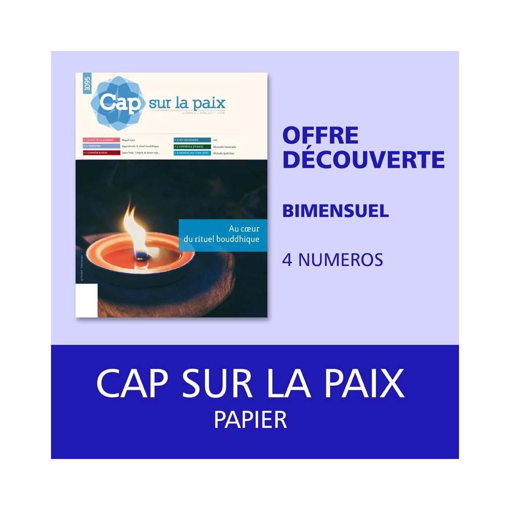 Cap sur la paix - Offre découverte - 4 numéros
