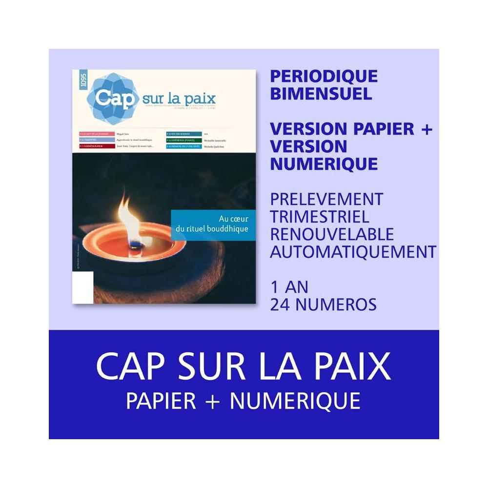 Cap sur la paix - Papier et Numérique